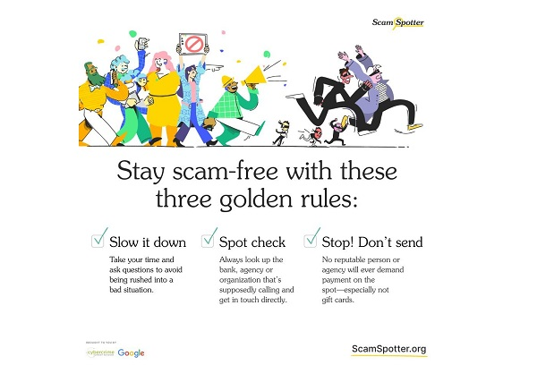 Google Launches Scam Spotter