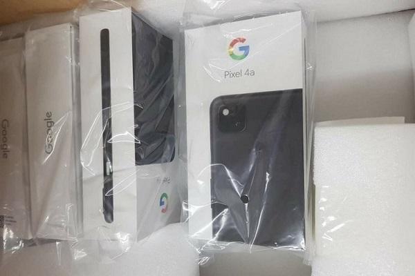 Google Pixel 4a retail box leaks