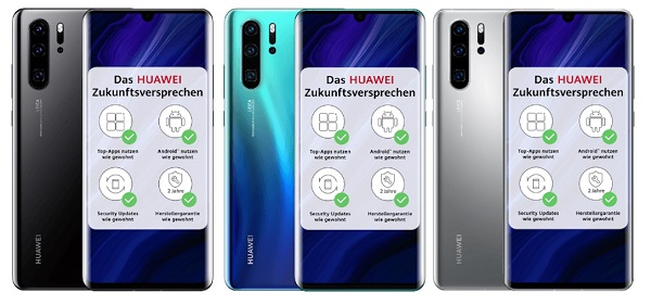 HUAWEI P30 Pro New Edition in colors
