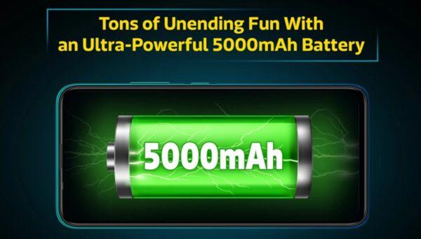 Infinix Hot 9 Pro Battery