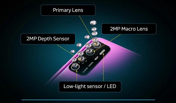 Infinix Hot 9 Pro cameras