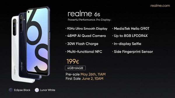 Realme 6s Price