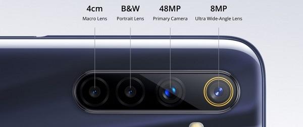 Realme 6s rear camera