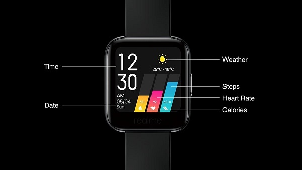 Realme Watch features