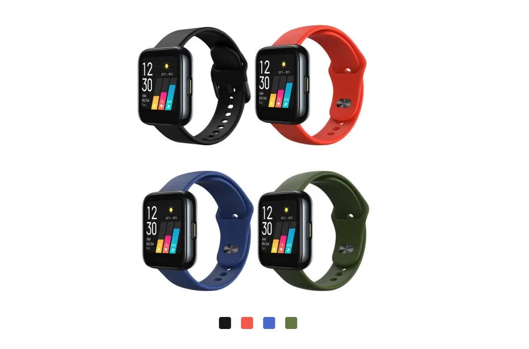 Realme Watch in colors