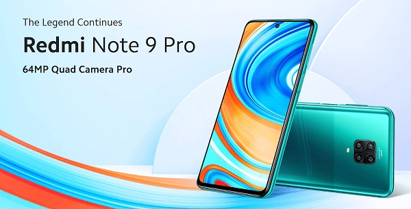 Redmi Note 9 Pro (Global Version) Poster