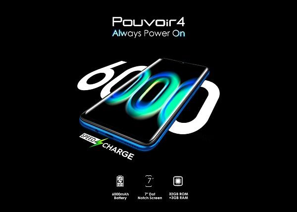 Tecno Pouvoir 4 Battery