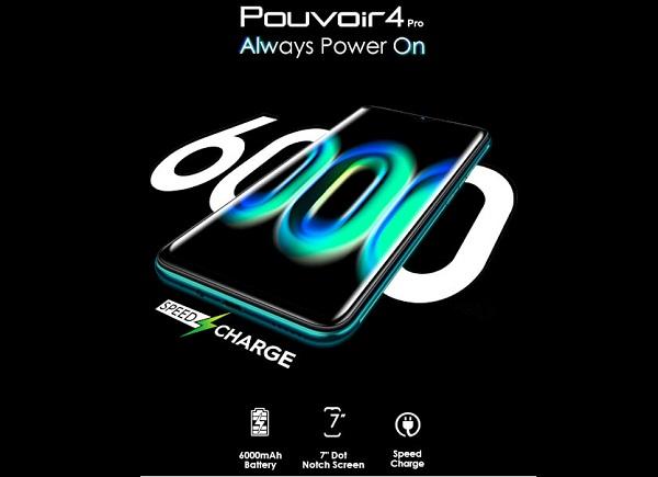 Tecno Pouvoir 4 Pro Battery