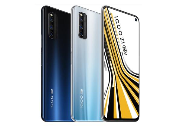 iQOO Z1 5G in colors