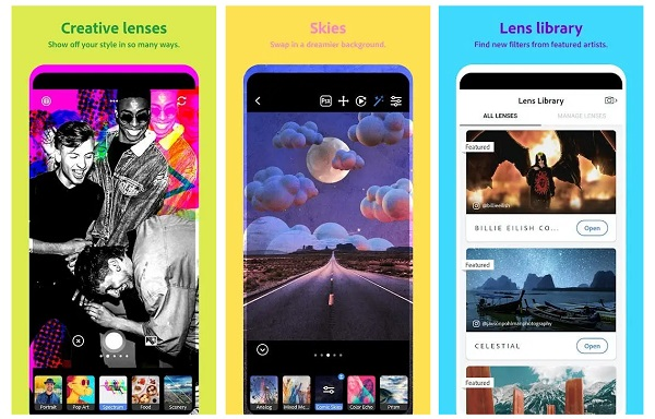 Adobe Photoshop Camera Now Available For Android and iOS