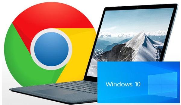 Google Chrome on windows 10