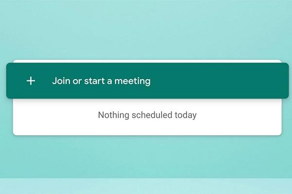 Google Meet shortcut