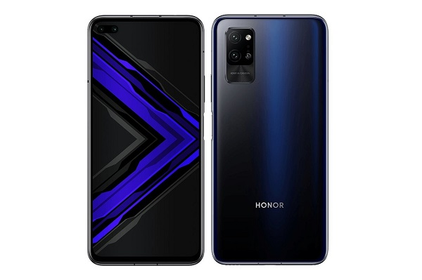 Honor Play 4 Pro in black.