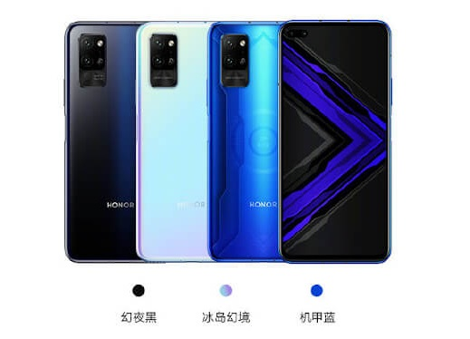 Honor Play 4 Pro in colors