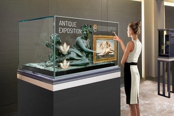 LG Unveils Transparent display