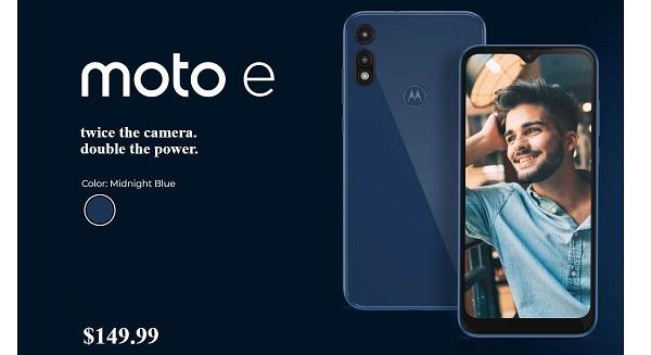 Motorola Moto E (2020) announced