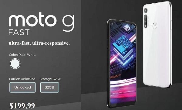 Motorola Moto G Fast announced