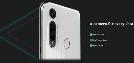 Motorola Moto G Fast camera