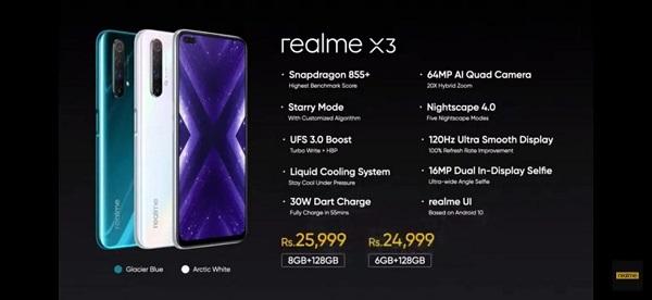 Realme X3 Price