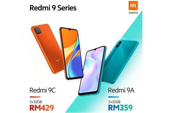Redmi 9A and Redmi 9C