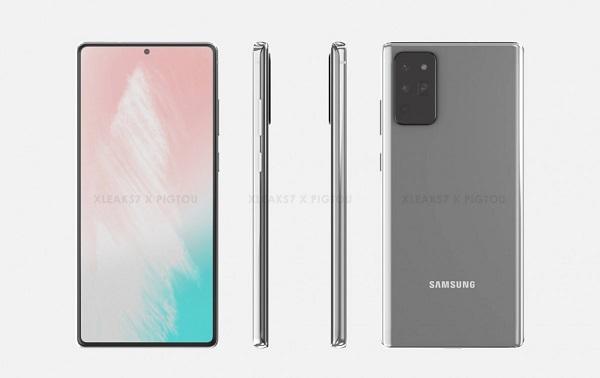Samsung Galaxy Note20 leaks