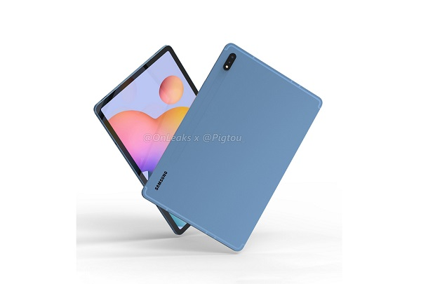 Samsung Galaxy Tab S7 Alleged Render