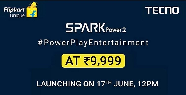 Tecno Spark Power 2 Coming on June 17