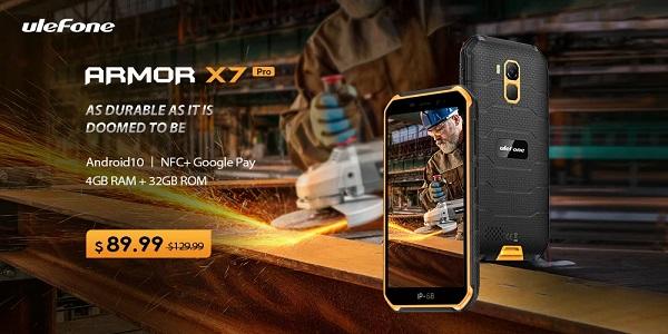 Ulefone Armor X7 Pro Price