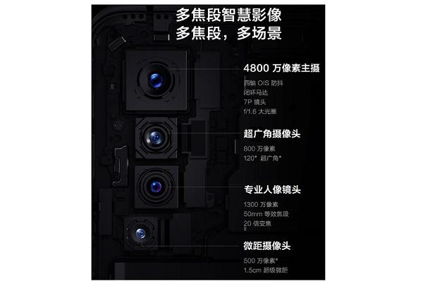 vivo X50 rear camera specs