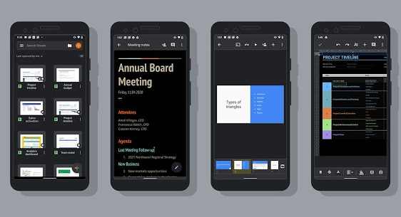 Google Adds Dark Mode To More Of Its App On Android