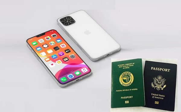 International Passports and iPhone