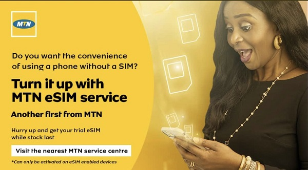 MTN eSIM launched