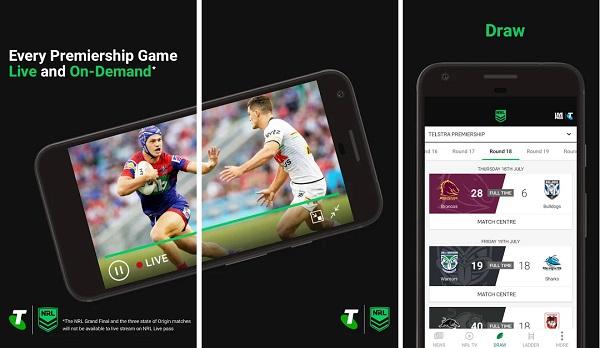 NRL Mobile App