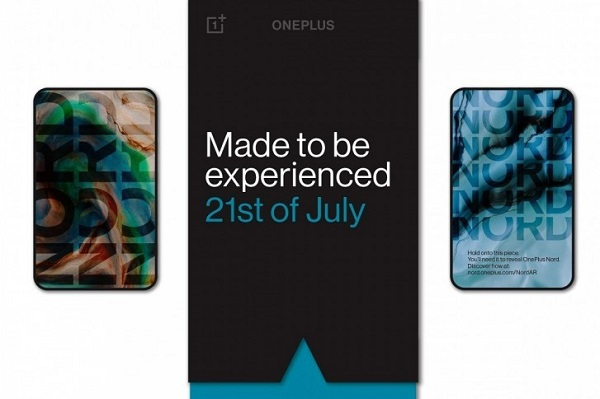 OnePlus Nord coming 21st July