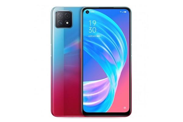 Oppo A72 5G in Neon