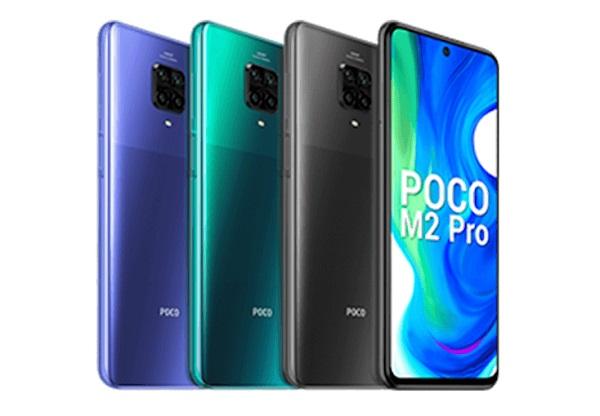 Poco M2 Pro in Colors