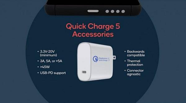 Qualcomm Quick Charge 5 accessories