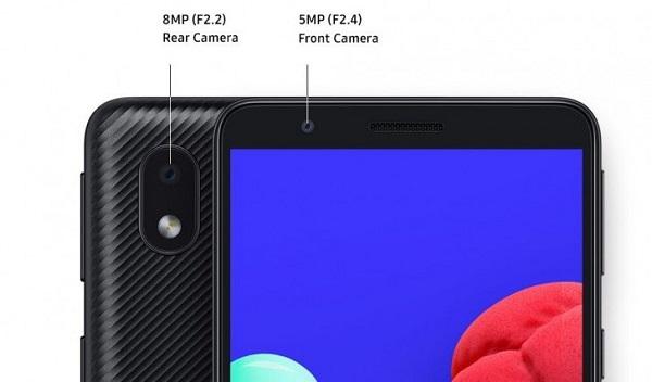 Samsung Galaxy A01 Core rear