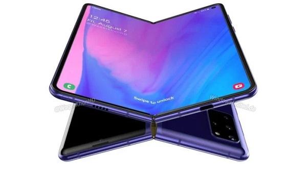 Samsung Galaxy Z Fold 2 render