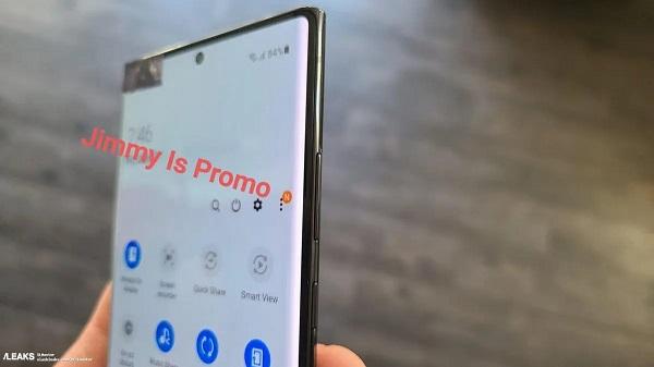 Samsung Note10 Leaks