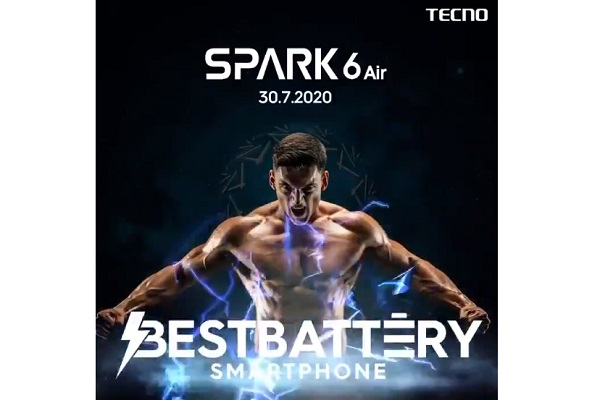 Tecno Spark 6 Air launch