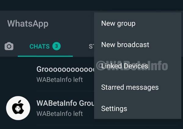 WhatsApp On Multiple Device Feature