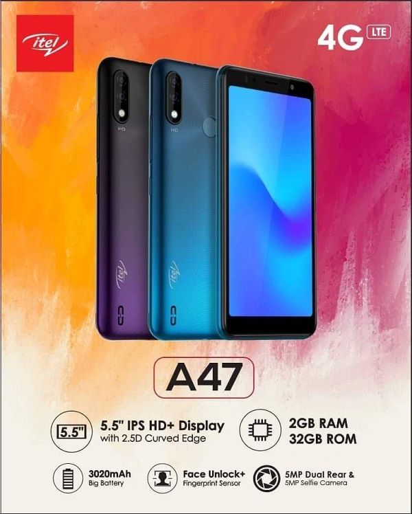 itel A47 launched