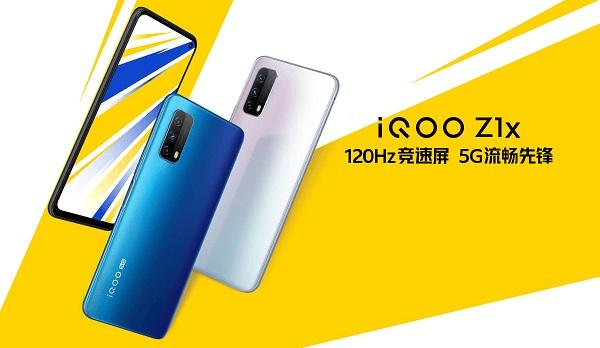 vivo iQOO Z1x launched