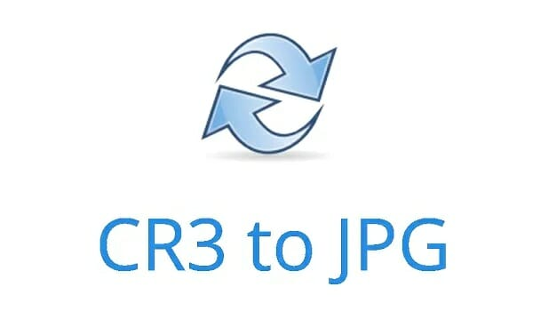 Convert CR3 To JPG, PNG, TIFF