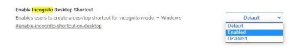 Create 'Incognito Mode' Desktop Shortcut for Chrome