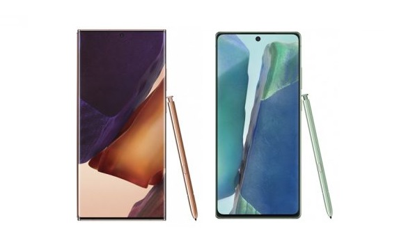 Galaxy Note20 Ultra and Note20