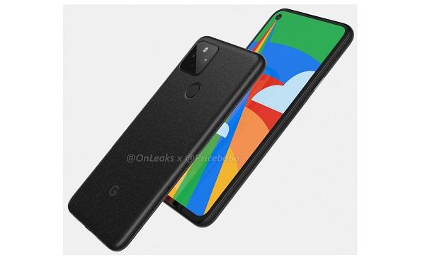 Google Pixel 5 render