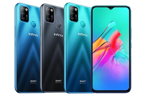 Infinix Smart 5 in colors
