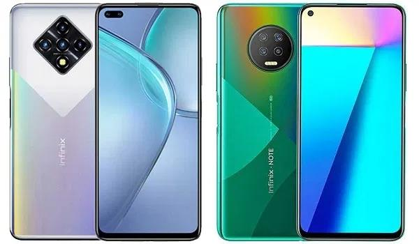 Infinix Zero 8 or Infinix Note 7